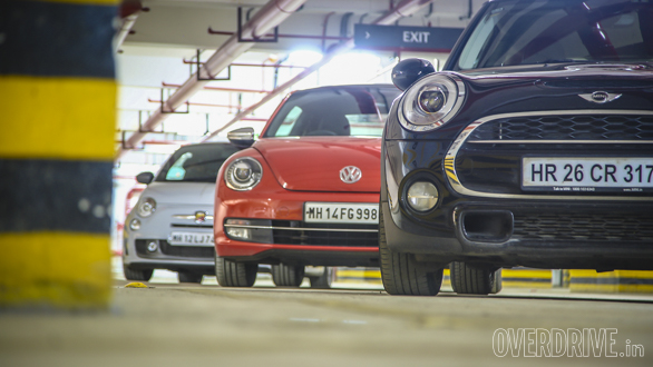 Mini vs Abarth vs Beetle