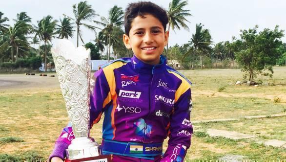 Shahan Ali Mohsin Rotax world final