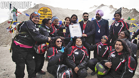 TVS Himalayan Highs Season 2 in India Book of Records