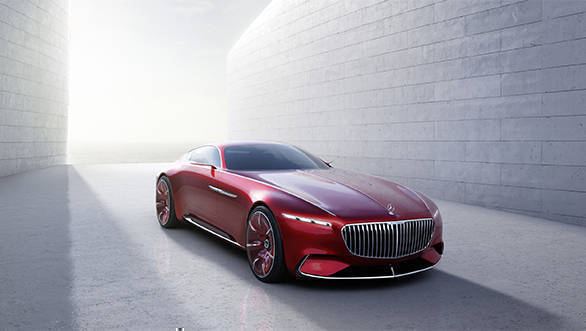 Image gallery: Vision Mercedes-Maybach 6 concept