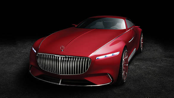 Fast and luxurious: Vision Mercedes-Maybach 6 concept