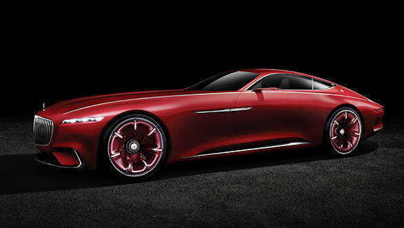 Vision Mercedes-Maybach 6: Studie eines extravaganten Coups der Luxusklasse; 2016 ; Vision Mercedes-Maybach 6: Study of an ultra-stylish luxury-class coup; 2016;