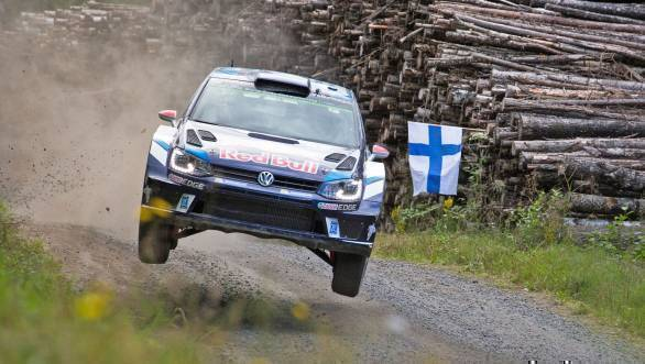 Jari-Matti Latvala took second place at Rally Finland, an event that was otherwise disastrous for VW