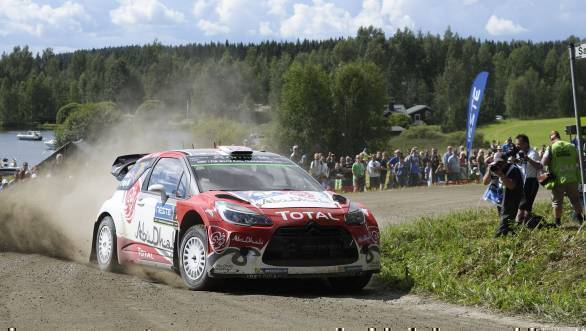 Meeke en route victory at the 2016 Neste Rally Finland