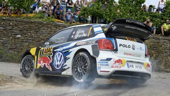 Ogier now extends his lead at the head of the standings to 59 points over team-mate Andreas Mikkelsen