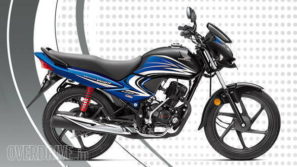 Honda Dream Yuga in new black and blue dual-tone colour launched in India
