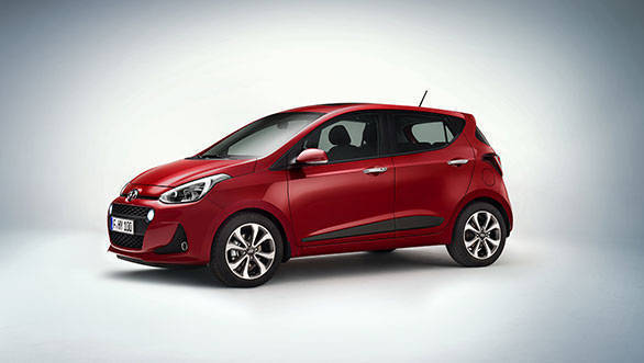 Facelifted Hyundai i10 revealed ahead of Paris debut