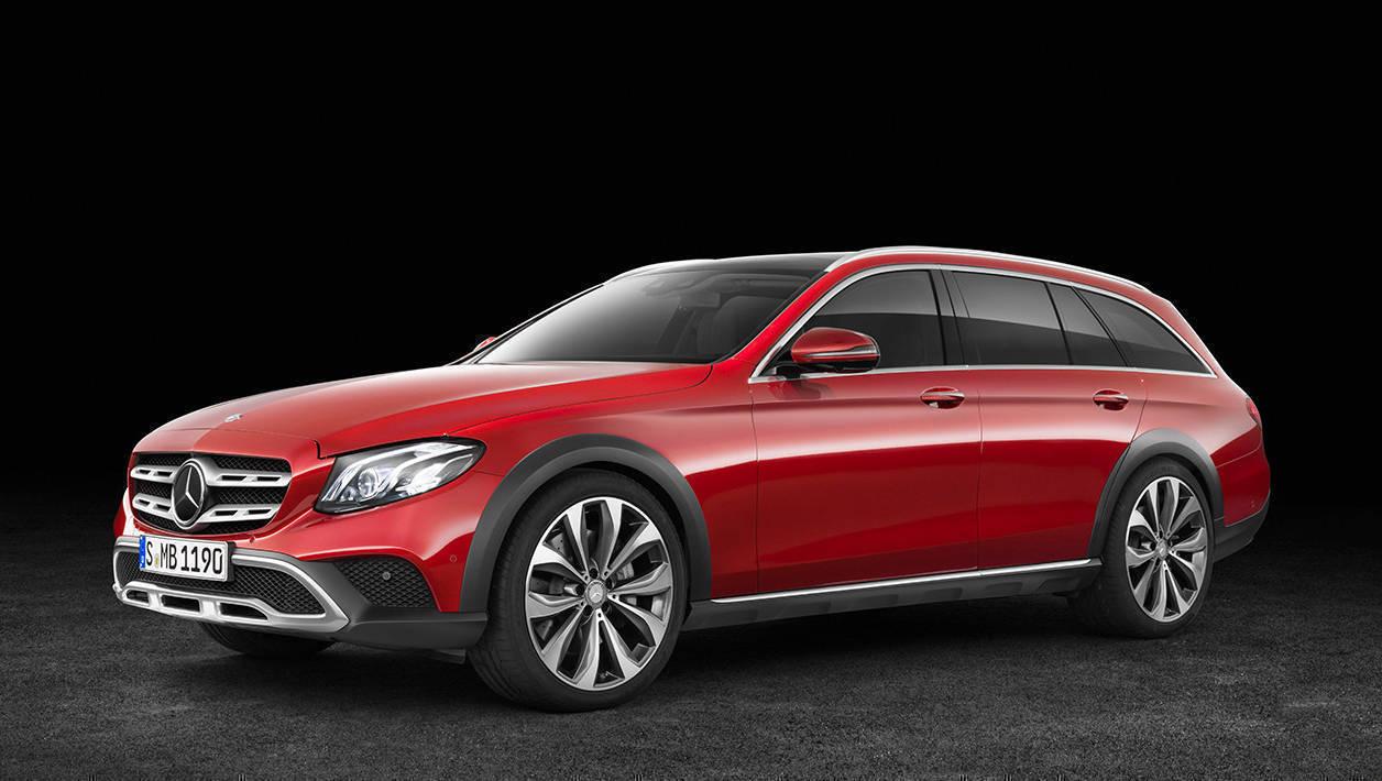 Mercedes-Benz E-Klasse All Terrain; Studio; 2016; Exterieur: designo hyazinthrot metallic // Mercedes-Benz E-Class All Terrain; studio; 2016; exterior: designo hyacinth red metallic
