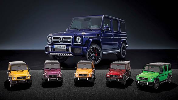 "Modellautos Mercedes-AMG G 63 ""Crazy Colors"