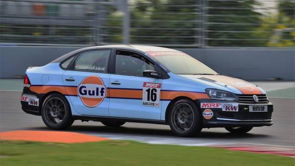 Karminder Pal Singh will start second on the grid