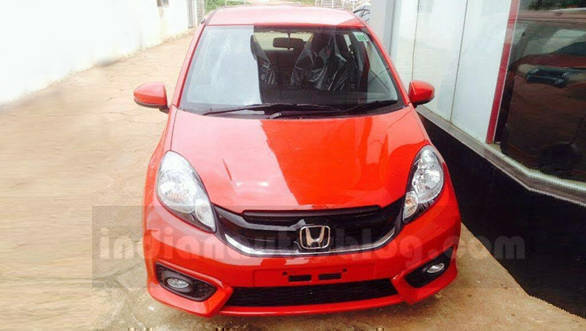 2016 honda brio facelift one