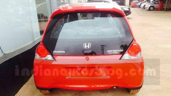 2016 honda brio facelift three