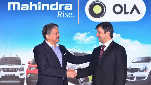 Mahindra partners with Ola to increase vehicle sales