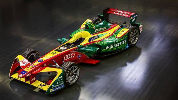 Audi plans to enter a factory team in the fourth season of the Formula E championship