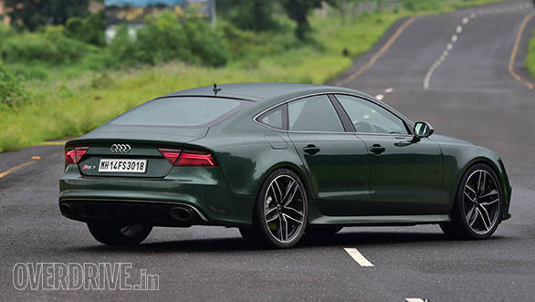 audi rs7 sportback performance road test review - overdrive