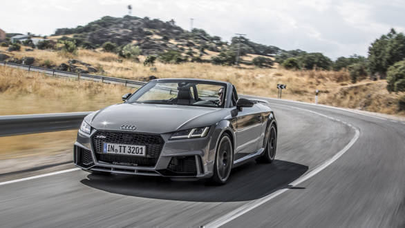 2017 Audi TT RS first drive review