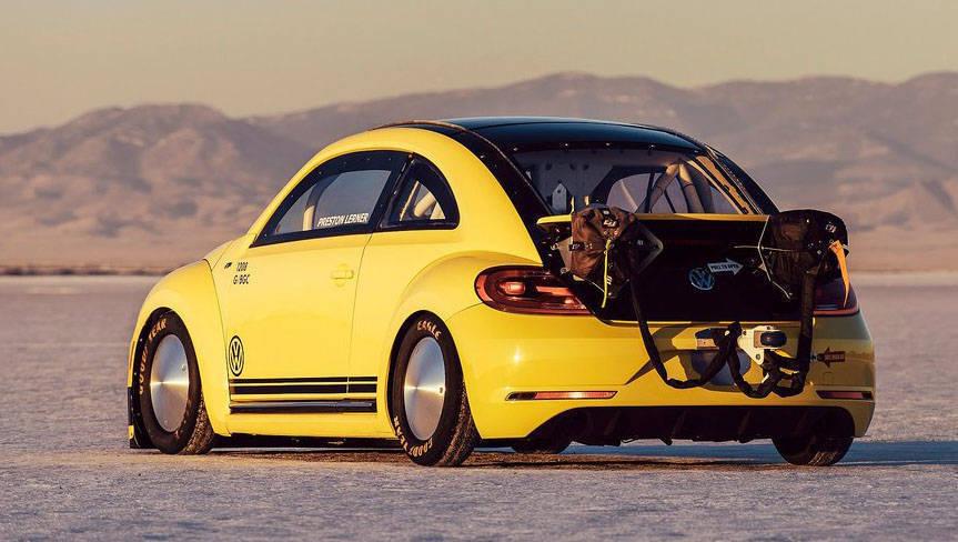 Beetle LSR rear
