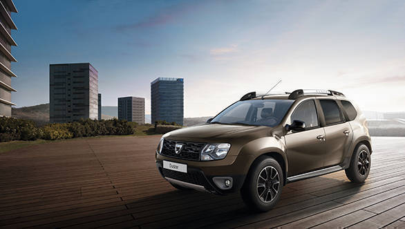 2016 paris motor show dacia duster with 6 speed dual. Black Bedroom Furniture Sets. Home Design Ideas