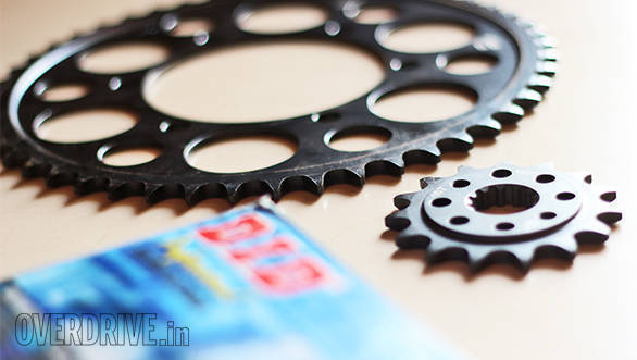 Product review: Driven Racing steel sprockets and DID X-ring chain