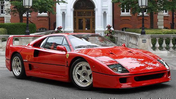 Historic supercars: Ferrari F40