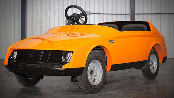 Firefly: World's first car for five-year olds unveiled