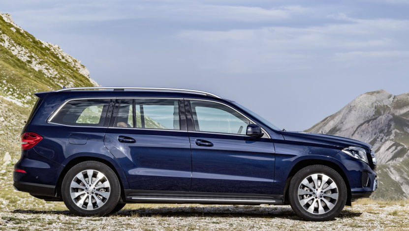 Mercedes-Benz GLS 350 d, Exterieur: Cavansitblau metallic ; Mercedes-Benz GLS 350 d, exterior: cavansite blue;