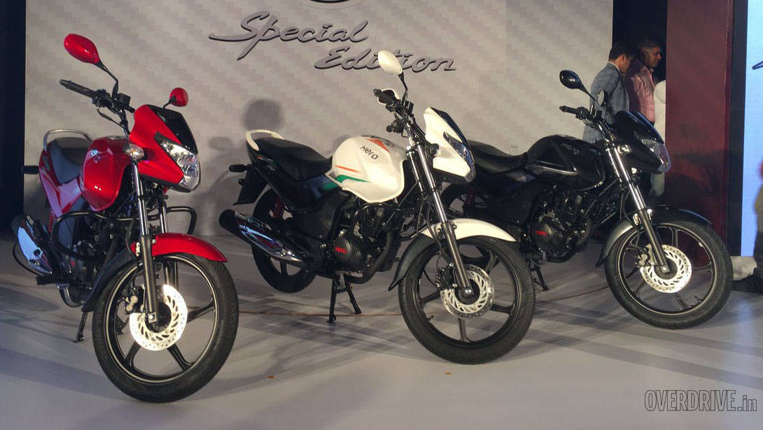 Image gallery: 2016 Hero Achiever 150 with i3S (updated)