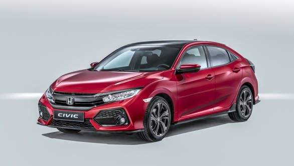 Honda unveils 10th-generation Civic hatchback