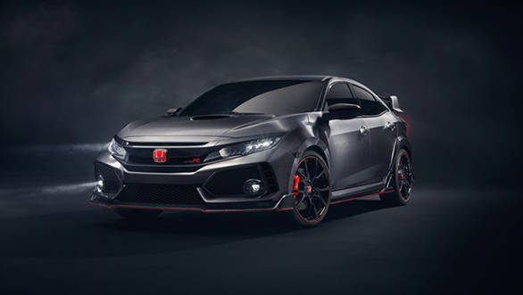 2016 Paris Motor Show: Honda Civic Type R prototype unveiled