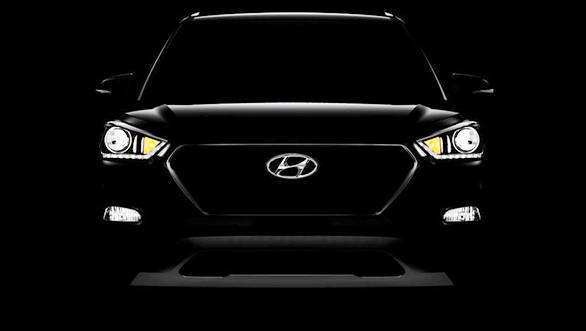 India-bound Hyundai Creta facelift teased ahead of launch