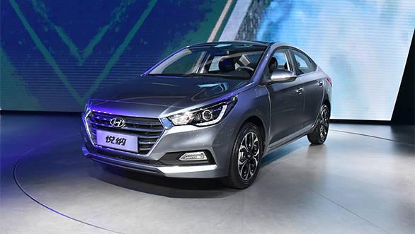India-bound 2017 Hyundai Verna unveiled