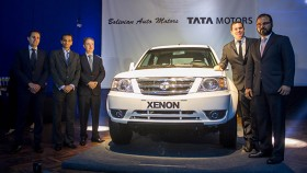 Tata Motors launches three commercial vehicles in Bolivia