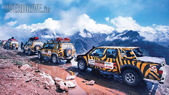 Off-road expedition: Isuzu Challenge 2001