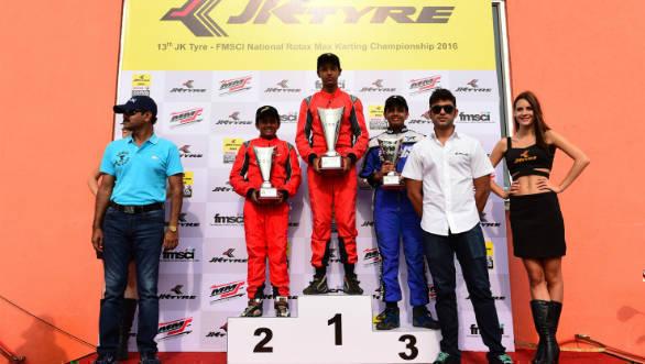JK Tyre-FMSCI National Rotax Max Karting Championship 4