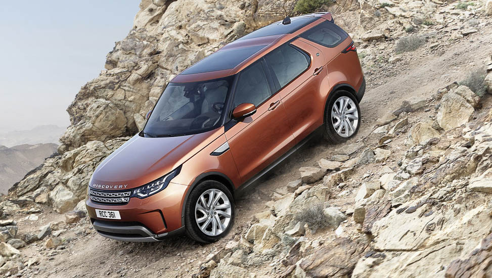 Land Rover Discovery New Image