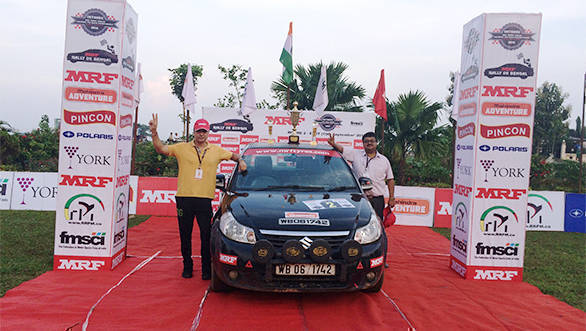 MRF Rally de Bengal winners