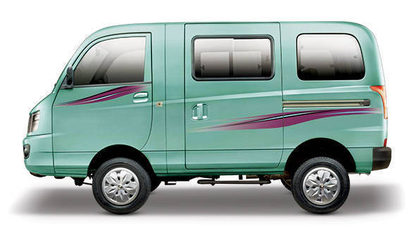 Mahindra-Supro-Van-side-green