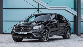 2017 Mercedes-AMG GLC 43 coupe launched in India at Rs 74.8 lakh