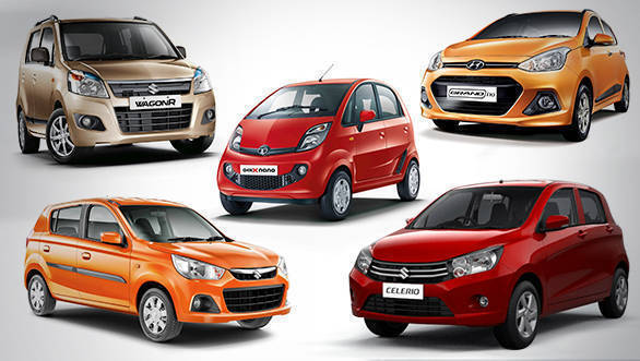 Five most affordable automatic cars in India