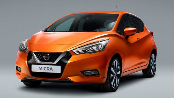 The Nissan Micra Gen5 wears an all-new styling inspired from the 2015 Sway Concept