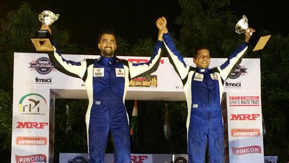 2016 INRC Round 3: Arjun Rao Aroor and Satish Rajgopal win Rally de North