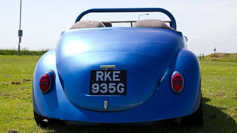 Roadster Wizard rear