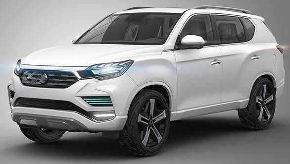 2016 Paris Motor Show: SsangYong LIV-2 Concept revealed