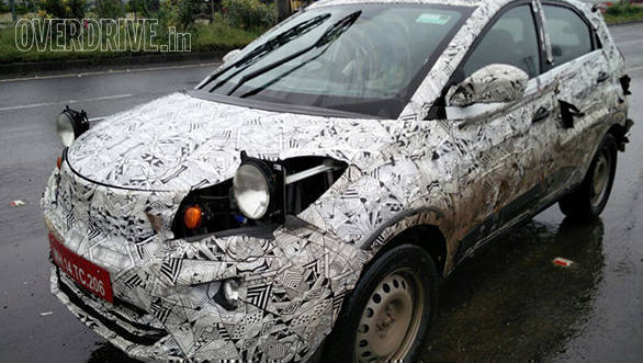 Spied: Tata Nexon caught testing in India
