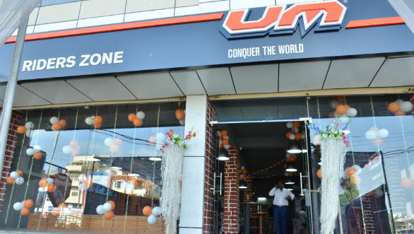 UM Motorcycles India opens new dealership in Jaipur