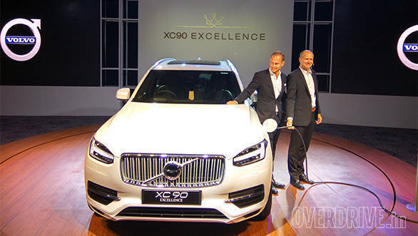 Volvo XC90 Excellence T8 Hybrid: Technical highlights