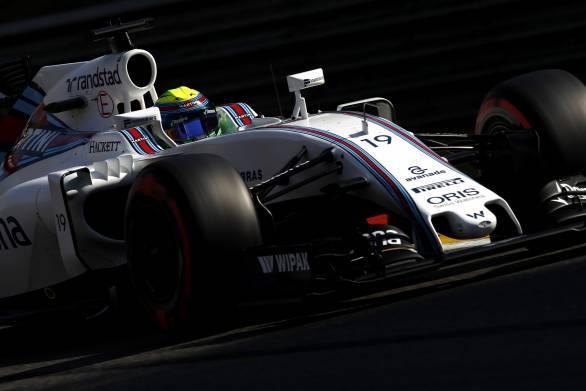 Spa-Francorchamps, Spa, Belgium.. Saturday 27 August 2016. Felipe Massa, Williams FW38 Mercedes. Photo: Glenn Dunbar/Williams ref: Digital Image _31I0991