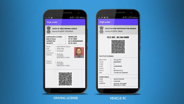 Indian government integrates DigiLocker with driving licence and vehicle registration certificates