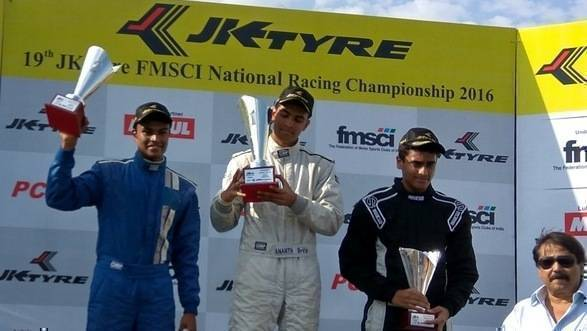 2016 JK Racing Championship: Ananth Shanmugam scores double win in the Euro JK 16 category