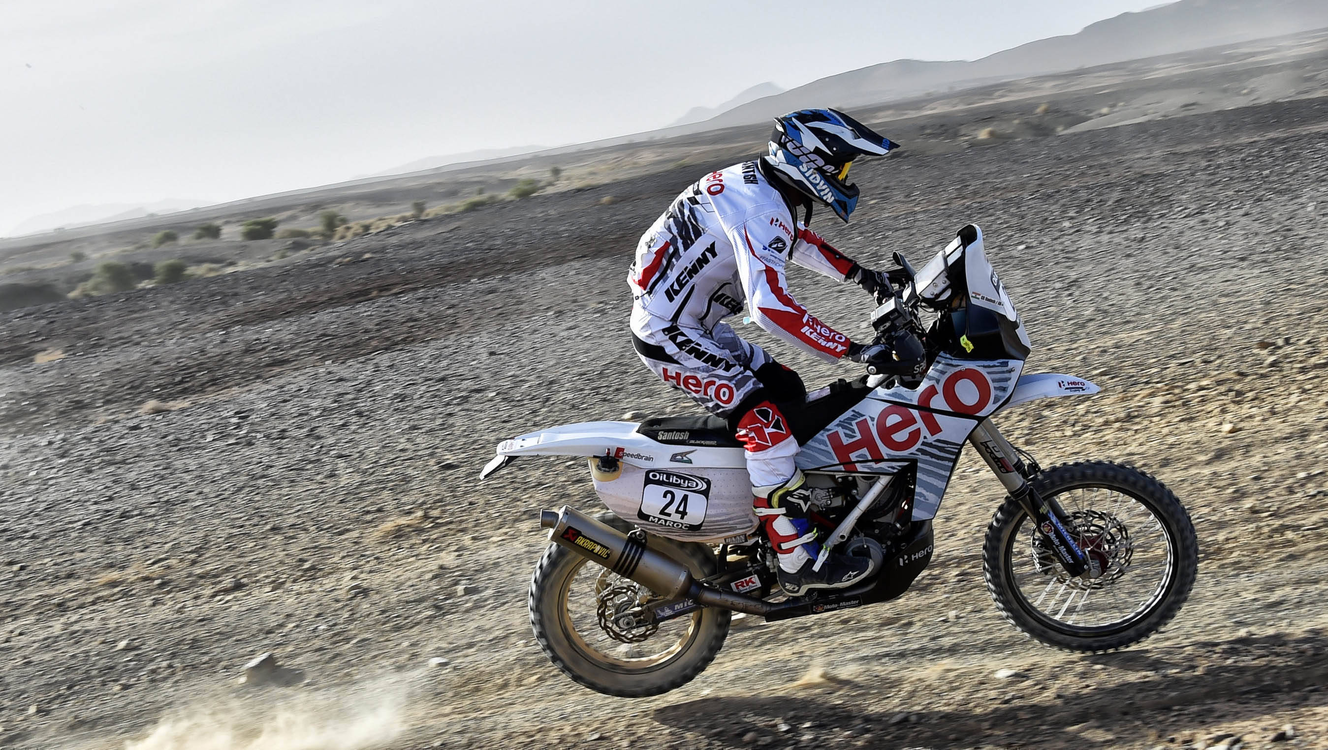 2016 Rally Morocco CS Santosh Day 5